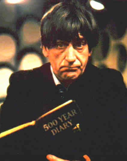 Patrick Troughton as the 2nd Doctor