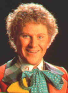 Colin Baker as the 6th Doctor